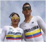 Fabian Puerta y Juliana Gaviria