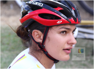 Juliana Gaviria, ciclista colombiana