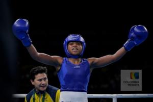 Ingrit Valencia, boxeadora colombiana