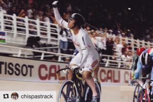 Fabián Puerta, oro en el Keirin de la Copa Mundo de Pista Cali 2017