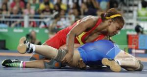 Jackeline Renteria luchadora olimpica