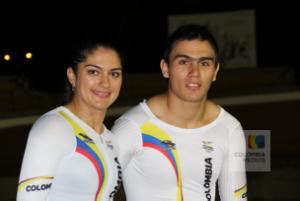 Fabián Puerta y Juliana Gaviria