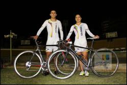 Fabián Puerta y Juliana Gaviria, listos para disputar el Campeonato Mundial de Cicilismo de Pista en Hong Kong