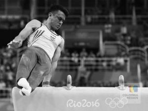 Jossimar Calvo, participación en Río 2016